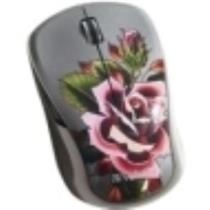 Verbatim Wireless Notebook Multi-Trac Blue LED Mouse Tattoo Series ROSE 98614