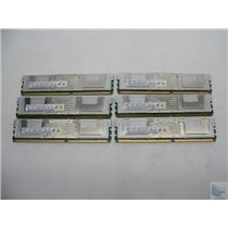 DEALER Lot of 6 Samsung 4GB Registered ECC PC2-5300F M395T5160QZ4-CE66 Memory