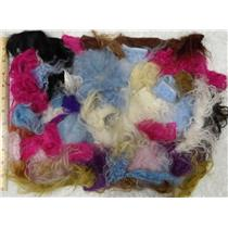 2 oz Tibetian lamb skin ,fairy hair, hair color set  25854