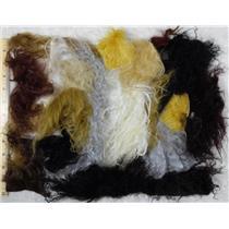 2 oz Tibetian lamb skin ,fairy hair, hair color set  25856