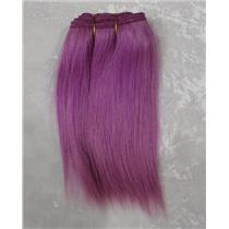"Light Purple straight mohair weft coarse  6-8"" x200""  25902 FP"