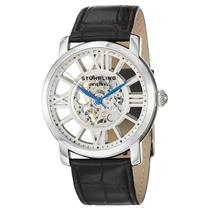 SEE THRU CLASSIC Stuhrling 280 Winchester Terrace Mechanical Skeleton Mens Watch