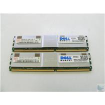 SERVER RAM - Lot of 2 Hynix 4GB 2Rx4 ECC PC2-5300F-555-11 HYMP151F72CP4N3-Y5
