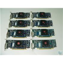 LOT OF 8 AMD ATI Radeon HD5450 0HFKYC Low Profile DMS-59 PCI-e Video Cards