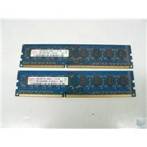 Lot of 2 Hynix 2GB PC3-8500U-7-10-B0 HMT125U6BFR8C-G7 Memory Sticks