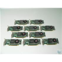 Lot of 10 ATI Radeon HD3450 102B6290200 256MB LP PCI-e DMS-59 Video Cards