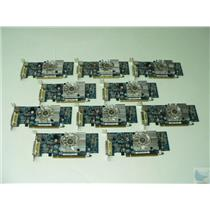 Lot of 10 ATI Radeon HD 2400XT R610P2CL-LE DMS-59 Low Profile PCI-e Video Cards