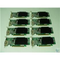 Dealer Lot of 8 ATI MS-V026 0G9184 PCI-e 256MB DMS-59 Low Profile Video Cards