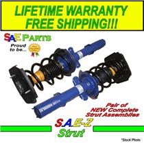 (2) NEW Heavy Duty Rear Left & Right Quick Installation Spring & Strut Assembly