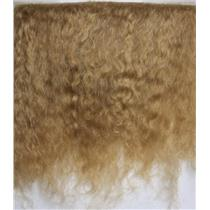"mohair weft light caramel 5-6"" doll hair  2 yds  26106"