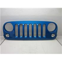 2007-2015 JEEP WRANGLER GRILLE (HYDRO BLUE) DAMAGED PAINT