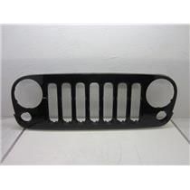 2007-2015 JEEP WRANGLER DRAGON GRILLE (BLACK X8) HEAVY SCRATCHES