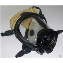 Survivair SCBA Mask Model # Twenty Twenty Plus Part # 252022 Kevlar Hood Size M