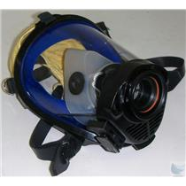 Survivair SCBA Mask Model # Twenty Twenty Plus Part # 969061 Yellow Hood Size S