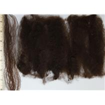 "deep warm brown Doll hair Cotswold wool locks wooly Yaki style 5-9"" 1 oz 25155"
