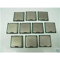 Lot of 10 Intel Core Core 2 Duo E6550 2.3GHz CPU Processor SLA9X HH80557PJ0534MG
