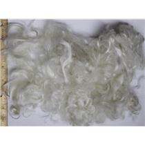 "2-4"" curly washed adult mohair  1 oz doll hair  26172"