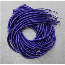 Purple synthetic Dreadlocks 22' Double Ended Dread Fall Extensions oz 26185