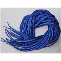 Blue synthetic Dreadlocks 22' Double Ended Dread Fall Extensions oz 26186