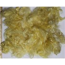 "sunny yellow light  Mohair curls 1 oz  fine adult shorts 1-3"" 26190"