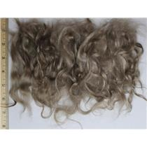 "Ash blonde color 620 soft wave angora goat Mohair 3-8"" 1 oz  26204"