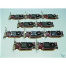 Lot of 10 Radeon HD 2400XT 256MB 0FM351 102B2760701 PCI-e Full Size Video Cards