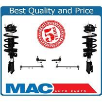 (2) Strut Complete Coil Spring Assembly  Fits For 08-13 Enclave 07-15 Acadia 6Pc