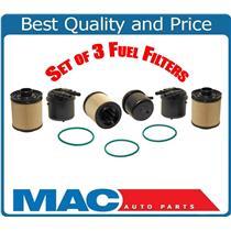 3 Fuel Filter PFD4615 Fits For 11-15 F250 Super Duty 6.7 Turbo Diesel BC3Z9N184B