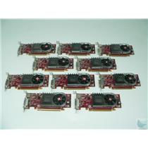 Dealer Lot of 10 ATI Radeon HD3450 102B6290200 256MB LP PCI-e DMS-59 Video Cards