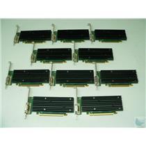 Lot of 10 nVidia Quadro NVS 290 0TW212 256MB DMS-59 PCI-e Video Cards