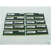 Lot of 10 Micron 2GB 2Rx4 PC2-4200R-444-12-J0 MT36HTF25672Y-53EB1 ECC Memory