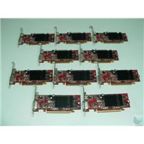 Dealer Lot of 10 ATI Radeon X600 0H9142 102A2604402 128MB DVI PCI-e Video Cards