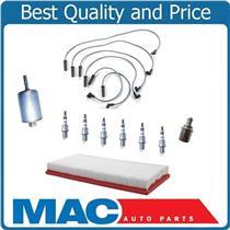 00-02 Camaro V6 3.8L 9637 Spark Plug Wire Set Plugs Air Filter PCV Gas Filter