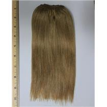 "golden ash blonde 16D mohair weft coarse straight 7-9 x 200"" 90-100g 26273 FP"
