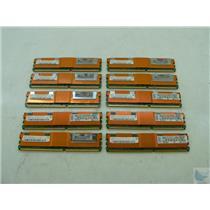 Dealer Lot of 10 Hynix 2GB 2Rx4 ECC PC2-5300F-555-11 HYMP525F72BP4D2-Y5 Memory