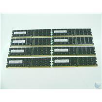 Lot of 8 Samsung 2GB ECC PC2-5300P-555-12-L0 2Rx4 M393T5750EZA-CE6 Memory