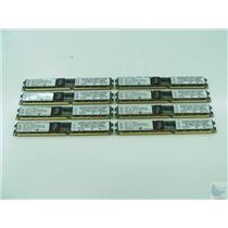 Lot of 8 IBM 2GB ECC PC2-3200 38L5912 VLP Very Low Profile Memory Sticks