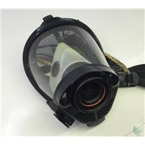 Survivair SCBA Mask Model # Twenty Twenty Plus Part # 969061 Black Hood Size M