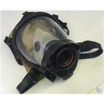 Survivair SCBA Mask Model # Twenty Twenty Plus Part # 222022 Yellow Hood Size M