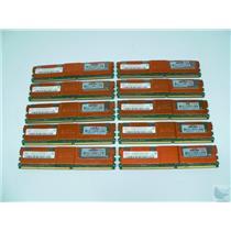 Lot of 10 Hynix 2GB 2Rx4 PC2-5300F-555-11 HYMP525F72CP4D2-Y5 ECC Server Memory