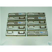 Lot of 10 Hynix 2GB 2Rx4 PC2-5300F-555-11 HYMP525F72CP4N3-Y5 Buffered ECC Memory