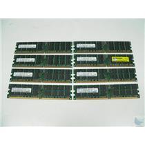 Lot of 8 Samsung 2GB 2Rx4 PC2-4200R-444-12-J3 M393T5750CZ3-CD5 ECC Memory