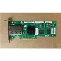 LSI LSI7204EP-LC 4GB dual port Pci-e fiber adapter low profile bracket 45W0421