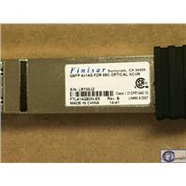 New Finisar FTL414QB2N-E5 56Gb QSFP+ Infiniband EMC 4X14G FDR 85C Optical XCVR