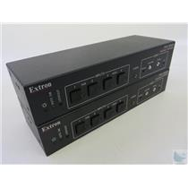Lot Of 2 Extron PVS 204SA PoleVault Twisted Pair Switchers NO POWER SUPPLIES