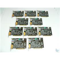 Dealer Lot of 10 Creative Labs Sound Blaster Live! SB0200 PCI Sound Cards