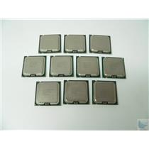 Lot of 10 Intel Xeon 3050 2.133GHz Dual Core CPU Processor SLABZ HH80557KH0462M