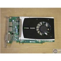 Nvidia Quadro 2000 1GB GDDR5 SDRAM 128bit PCIe 2x16 Graphics Card Dell 2PNXF