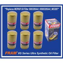 Set (6) Replaces MOPAR DODGE RAM 2500 3500 5.9L 6.7L DIESEL Oil Filter 5083285AA