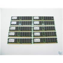 Lot of 10 Samsung 2GB PC2100R-25331-N0 M312L5628BT0-CB0Q0 Server Memory Sticks